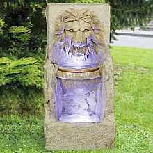 Large Lion head with Bowl Water feature