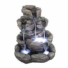 5 Fall Rock Formation Water Feature by Aqua Creations