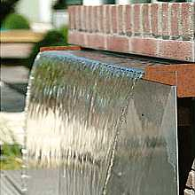 450mm Corten Steel Water Cascade