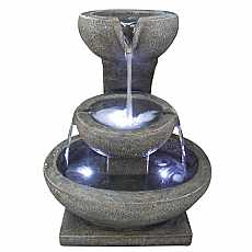 3 Granite Bowl Feature Water Feature by Aqua Creations