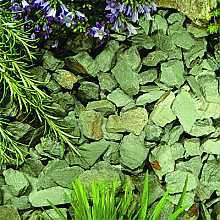 Kelkay Green Slate Stone Chippings Bulk Bag