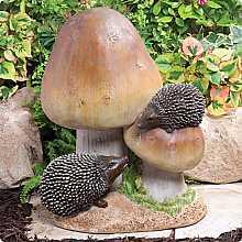 Toadstool Hedgehogs Large Kelkay Collectable Creature