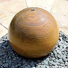 Rainbow Sandstone Sphere 40cm Diameter Water Feature