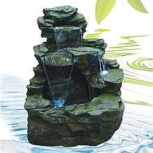 Garda Falls Kelkay Easy Fountain With LEDs