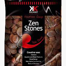 Kelkay Polished Zen Stones Teak Sheen