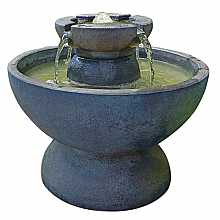 Henri Studio Copa Fountain 2 piece Relic Azura