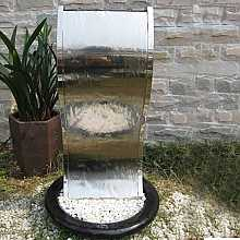 Lima Stainless Steel Fountain Water Feature