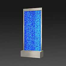 Extra Large Steel Frame Floor Standing Bubble Wall with Colour Changing LED Lights