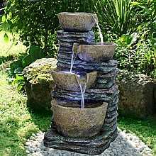 Slate Spills Kelkay Easy Fountain with LEDs