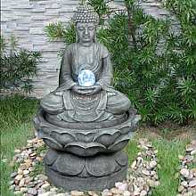 Medium Buddha (Crystal Ball) Water Feature