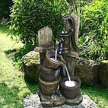 Kelkay Country Water Pump Easy Fountain Water Feature