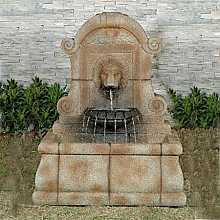 Lions Head on Wall Water Feature