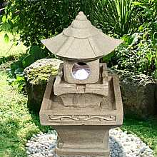 Sandstone Pagoda Water Feature
