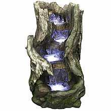 Kelkay Rustic Beech Falls Easy Fountain