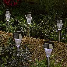 Stainless Steel Stake Light by Smart Solar
