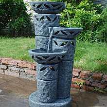 3 Bowls on Pillars