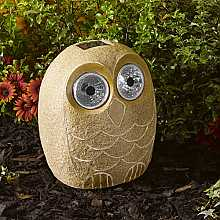 Bright Eye Stony Large Owl by Smart Solar