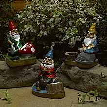 Gnome Spotlights, 3 pack by Smart Solar