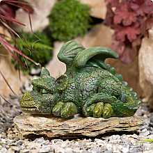 Kelkay Sleepy Green Dragon