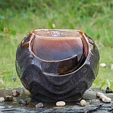 Angelica Ceramic Table Top Indoor Water Feature