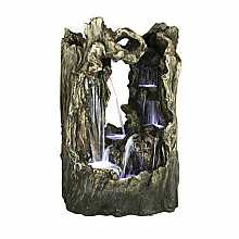 Kelkay Great Amazon Falls Water Feature with LED Lights
