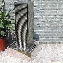 Warsaw Stainless Steel Fountain Water Feature