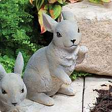 Sitting Bunny Kelkay Collectable Creature