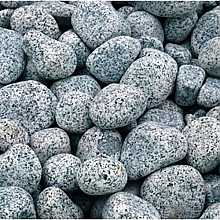 2 x 20kg Silver Grey River Pebbles 20mm - 40mm