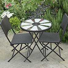 Aruba Bistro Set - Table and chairs by Smart Solar