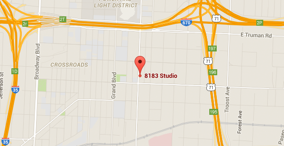 Directions to 8183 Studio