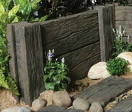 Log Stone Sleepers