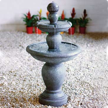 Fluted Tier Fountain Kelkay Easy Fountain