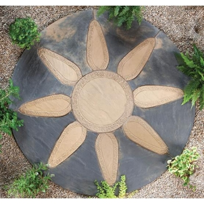Abbey Petal Patio Circle Kit 1.8m