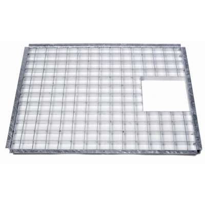 Rectangular Galvanised Steel Grid