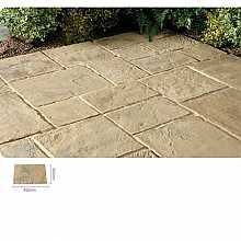 Kelkay Minster Paving Autumn Brown 450 x 300mm Bulk Pallet