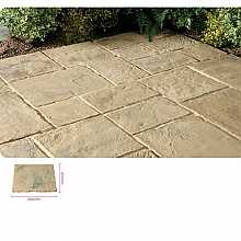 Kelkay Minster Paving Autumn Brown 600 x 450mm Bulk Pallet