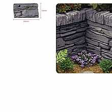 Kelkay Daleside Walling Half Block Valley Slate (60 Pieces)
