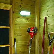 Smart Solar Shed Light