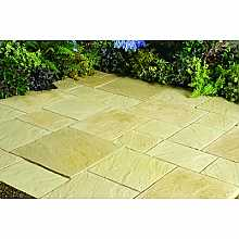 Abbey Paving York Gold Patio Pack (10.22sqm)
