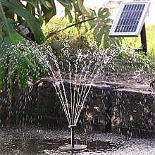 180LPH Value Solar Power Pond Pump with Float