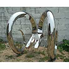 Stainless Steel Pliers Sculpture