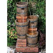 Brindle Brick Barrels Kelkay Easy Fountain