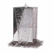 SPECIAL OFFER - Stainless Column 750mm height Water Feature