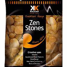 Kelkay Polished Zen Stones Honey Glow