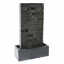 Granite Flat Panel Garden Fountain By Aqua Moda