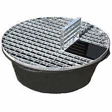 Reinforced heavy duty pebble pool 900mm diameter