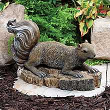 Crouching Squirrel Kelkay Collectable Creature