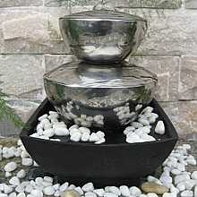 Bilbao Stainless Steel Table Top Indoor Water Feature