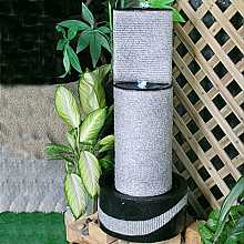 Granite/Black 2 Level Column Water Feature
