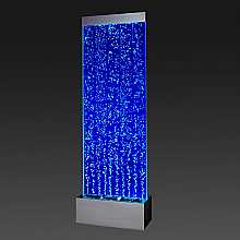 Extra Large Floor Standing Bubble Wall with Colour Changing LED Lights
